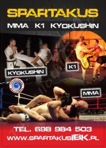 MMA K1 Kyokushin Bydgoszcz Toru? Spartakus