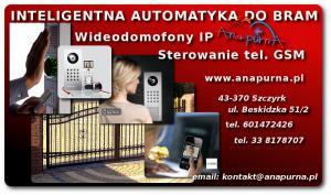 Wideodomofony IP - automatyka do bram i drzwi
